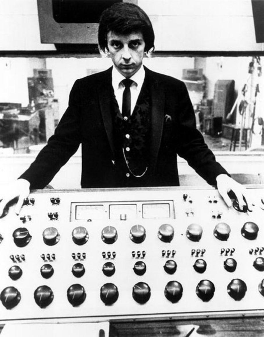 Phil Spector Vintage 1970 In the Studio  Phil Spector