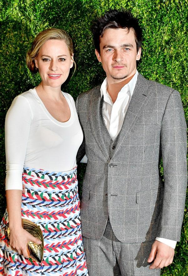 Homelands Rupert Friend Secretly Marries Aimee Mullins