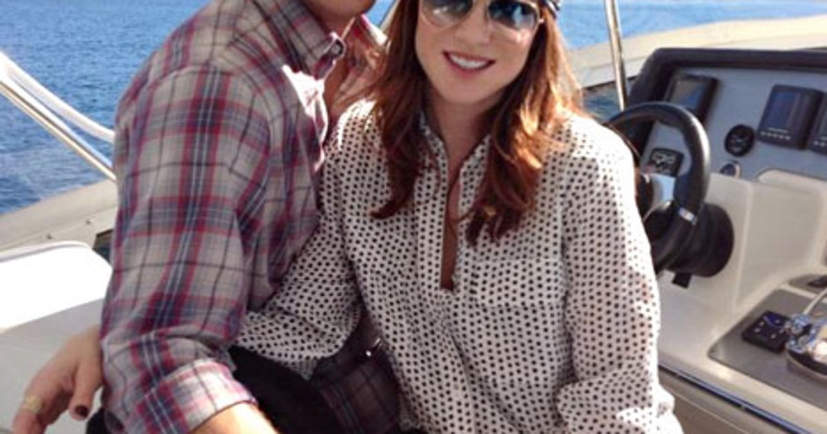 Danneel Harris Shows Off Tiny Baby Bump While Boating With