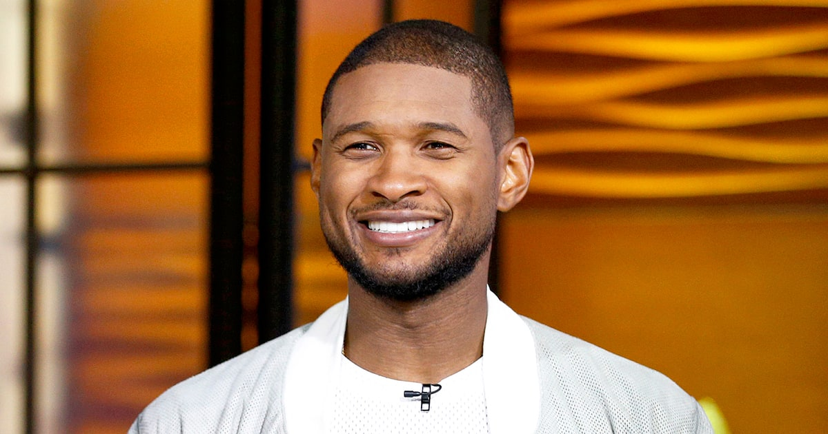Usher's Nude Selfie Was Only Part Of His Really Long Day