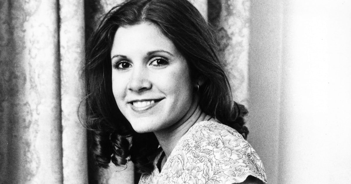 Image result for carrie fisher late 70s