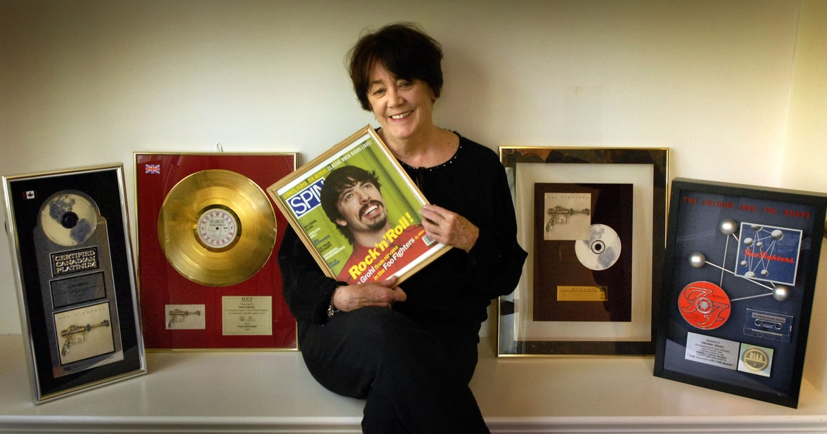Dave Grohls Mom Pens Book About Raising Rock Stars  Rolling Stone