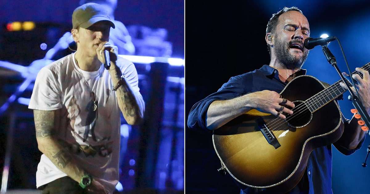 Eminem Dave Matthews Plot Intimate Grammy Week NYC Shows  Rolling Stone