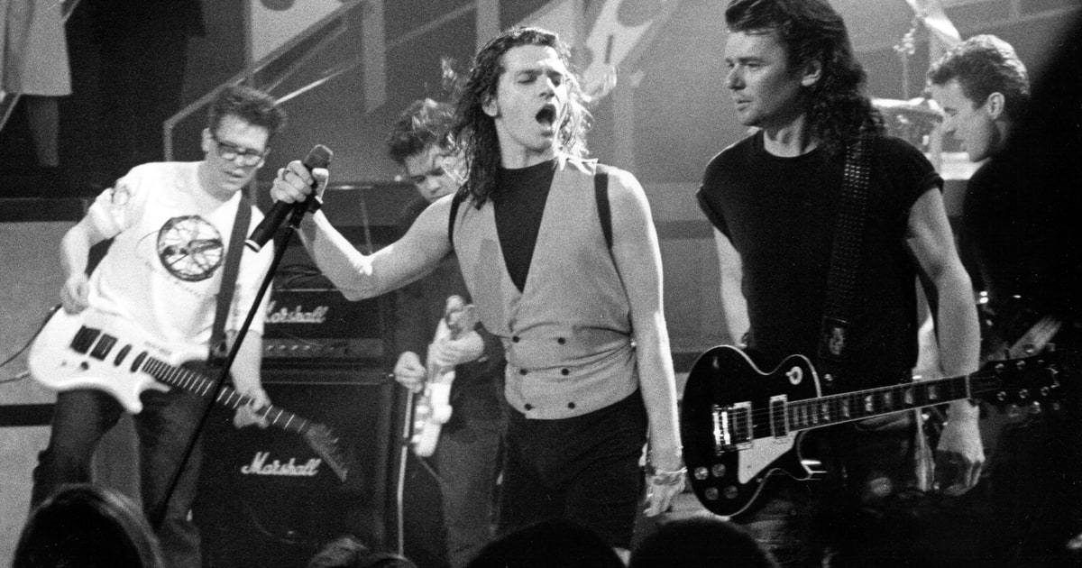 INXS Detail Kick 30th Anniversary Reissue Rolling Stone