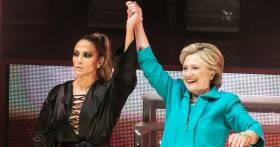 Jennifer Lopez, Hillary Clinton: J. Lo Is With Her!