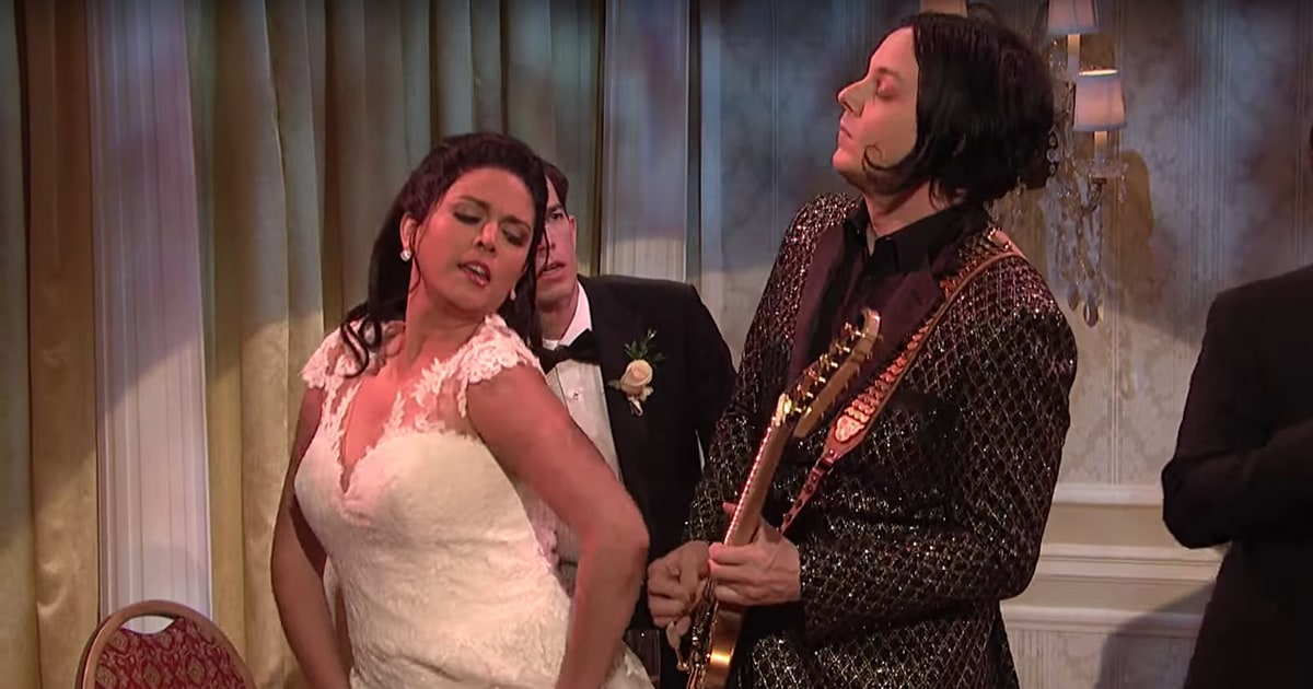 Watch Jack White Play Wedding Band Guitarist in SNL
