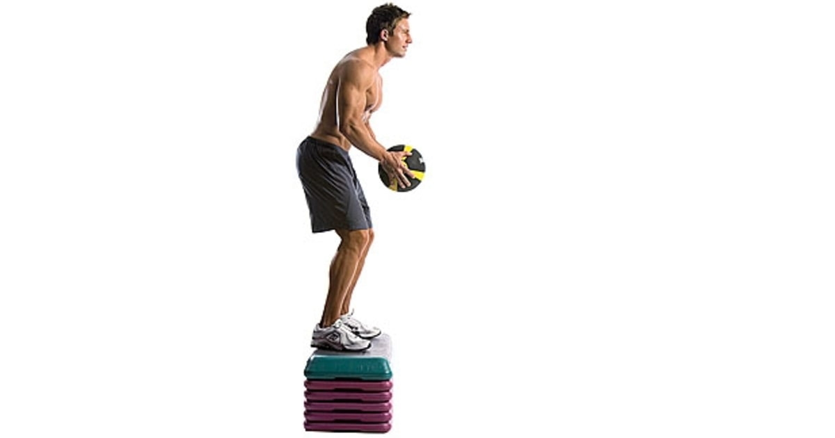 Depth Jump With Medicine Ball Complete Functional