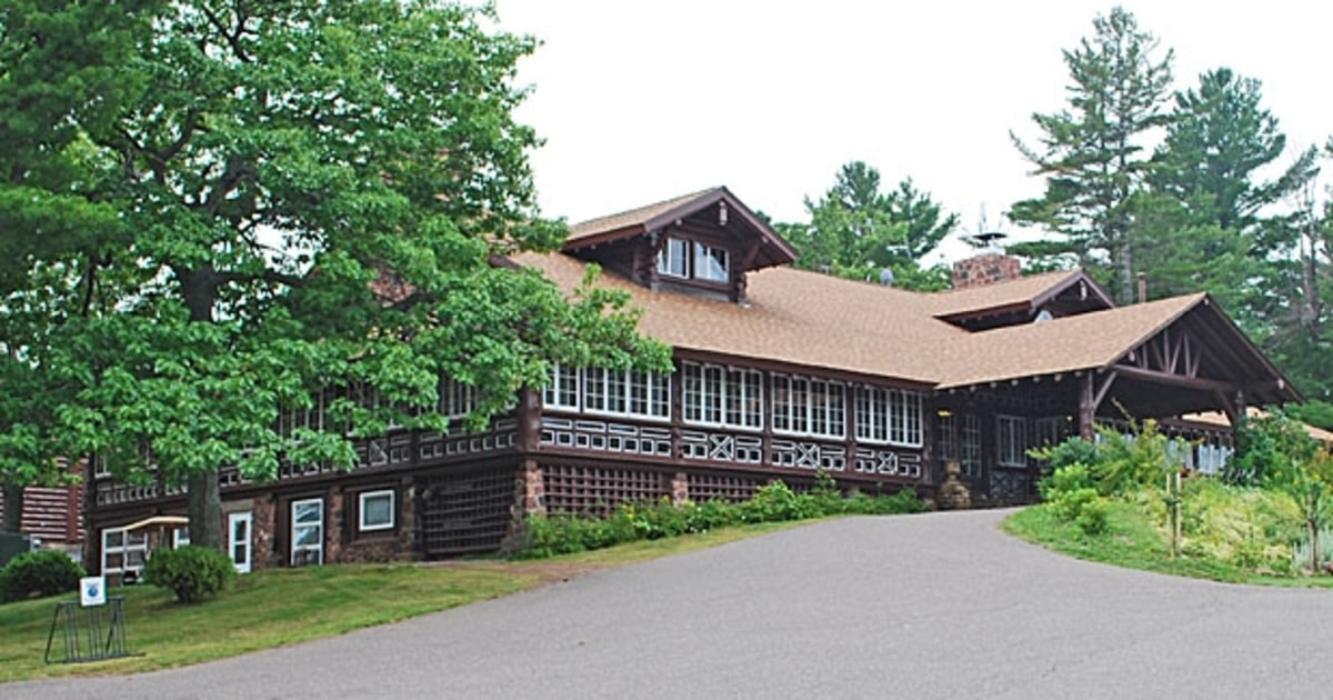 Keweenaw Mountain Lodge Michigan Wpa And Ccc Lodges For