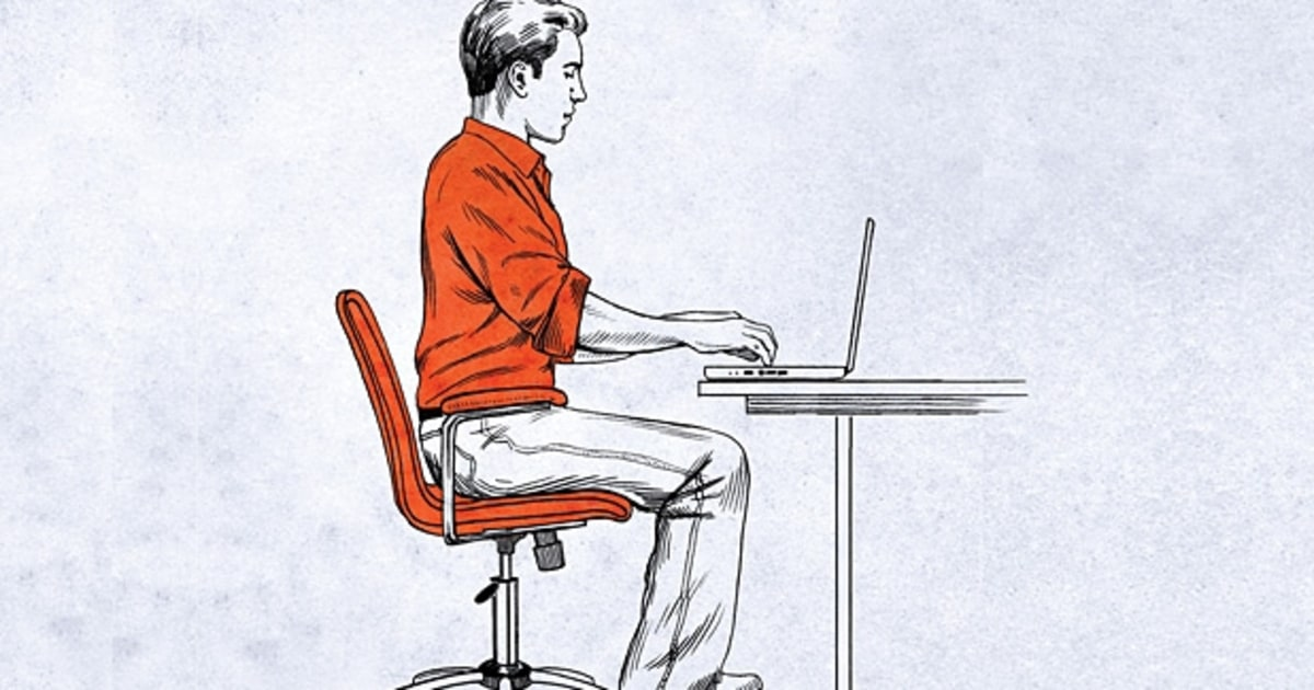 The Right Way to Sit  Mens Journal