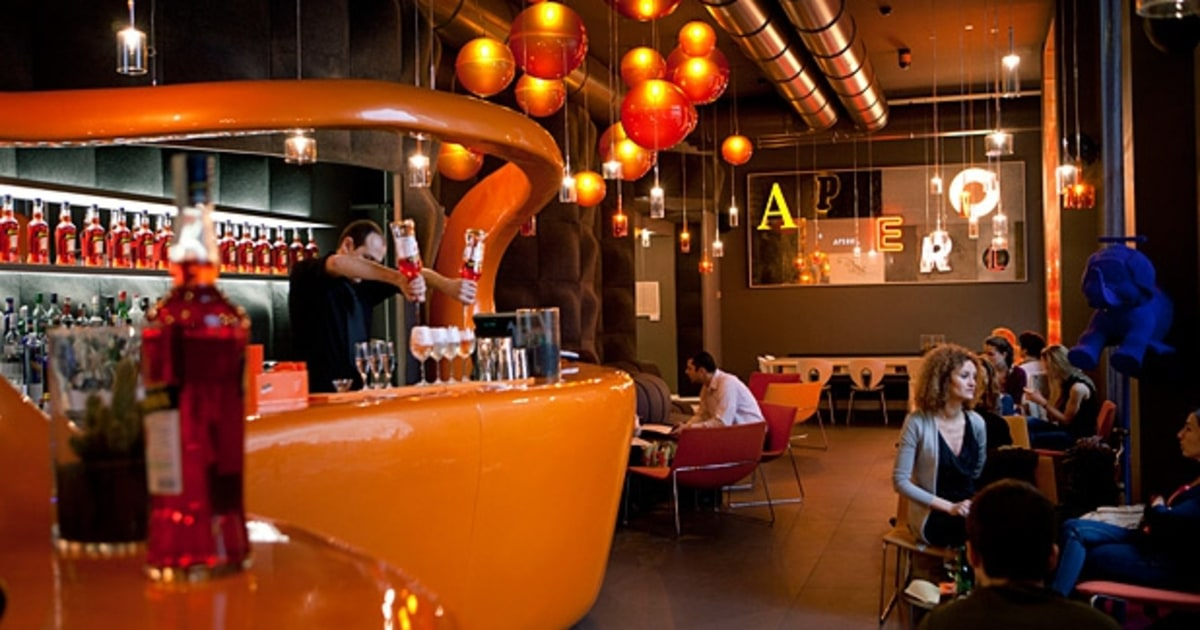 Best Aperol bar in Milan  Terrazza Aperol  Mens Journal
