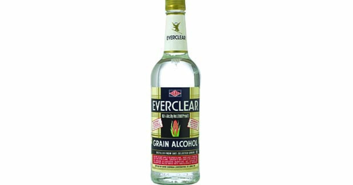 Everclear Grain Alcohol  The Worlds Strongest Spirits