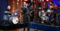 Jimmy Fallon Performs 'Roadhouse Blues' with Doors Drummer ...