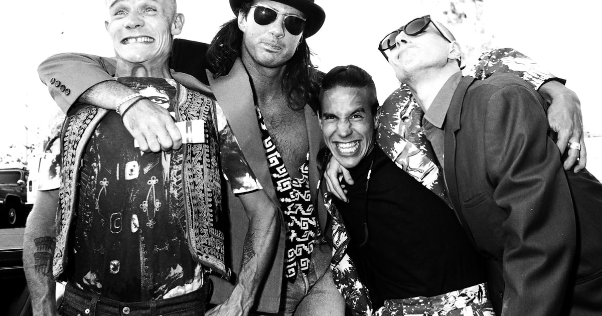 Red Hot Chili Peppers Chad Smith 25 Years Of Mothers