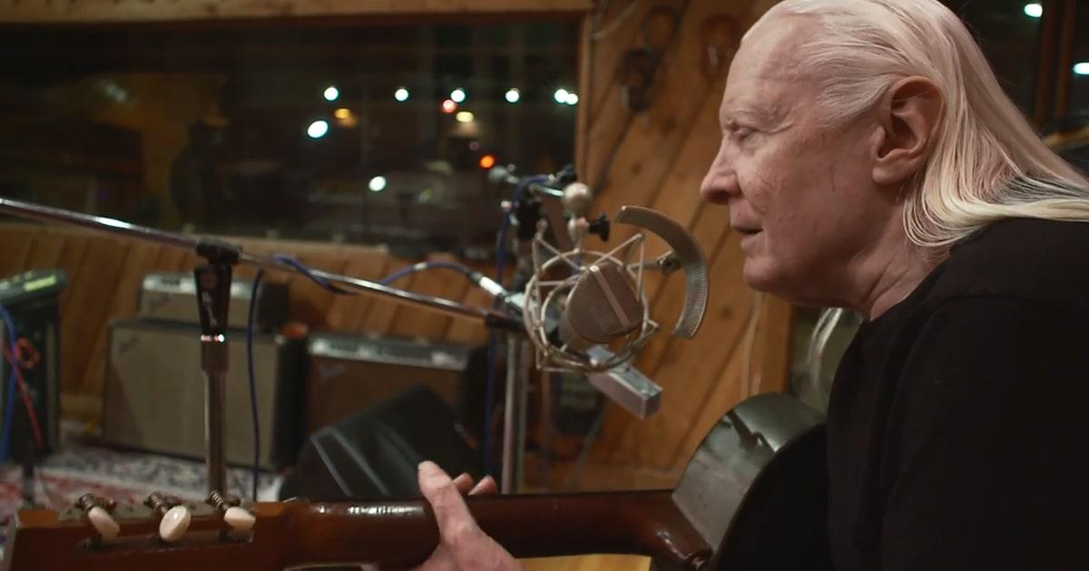 Hear Johnny Winters Bluesy Final Recording Death Letter  Rolling Stone