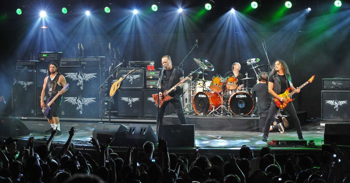 Metallica James Hetfield Shopping