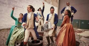 The Revolutionaries of Hamilton Photo; The Rolling Stone