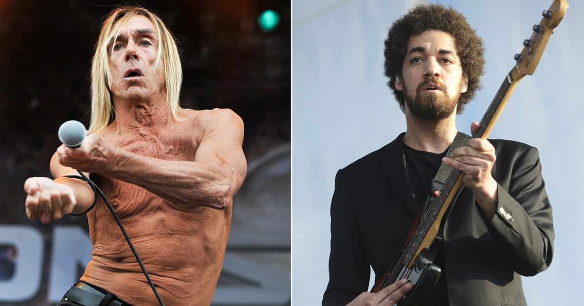Iggy Pop Danger Mouse CoWrite Song for New Movie Gold
