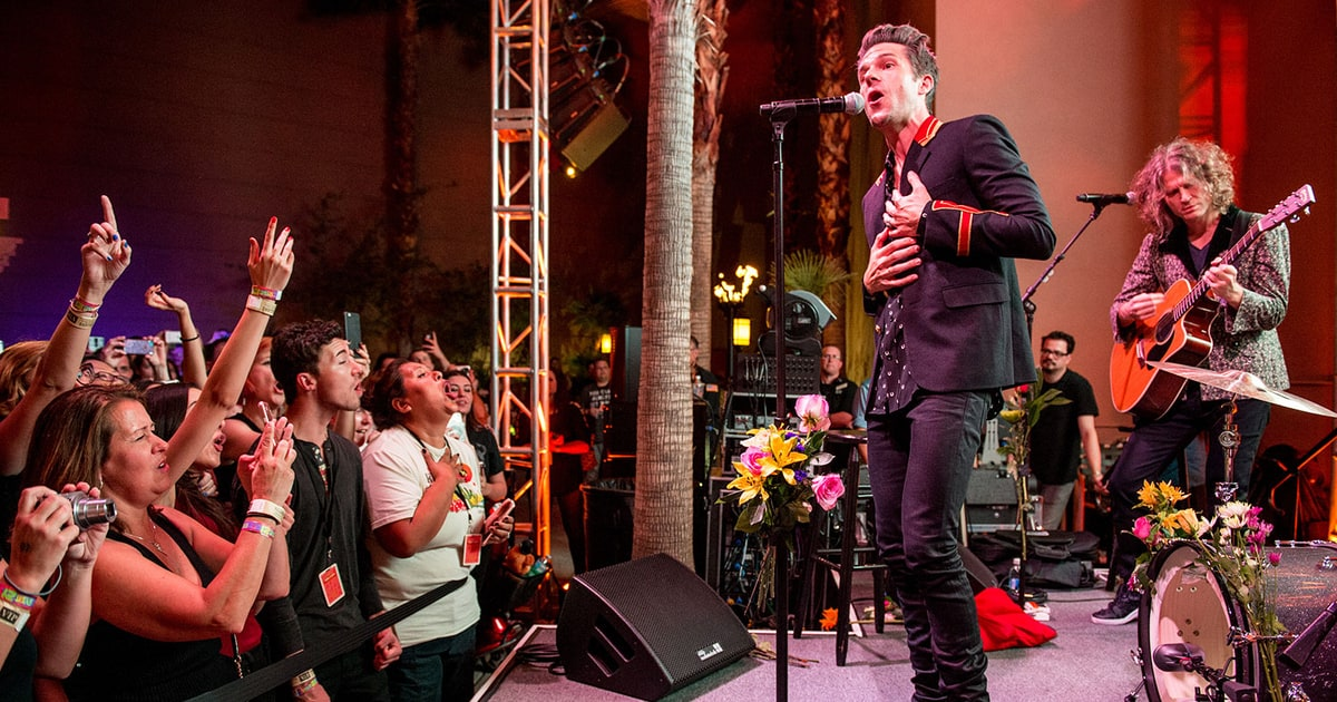 The Killers Celebrate 10 Years Of Sams Town Rolling Stone