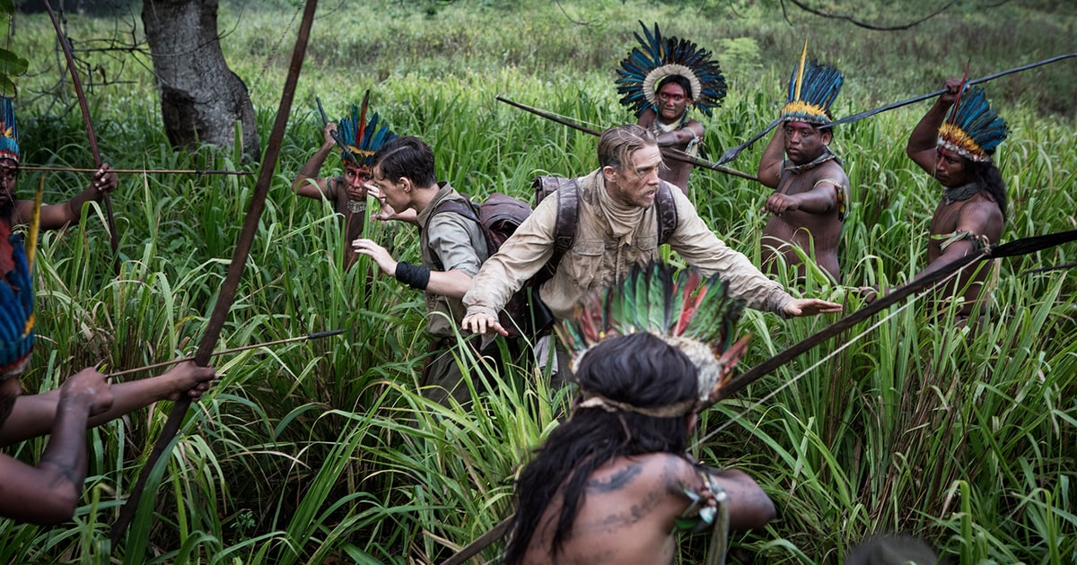 Peter Travers The Lost City Of Z Stars Charlie Hunnam