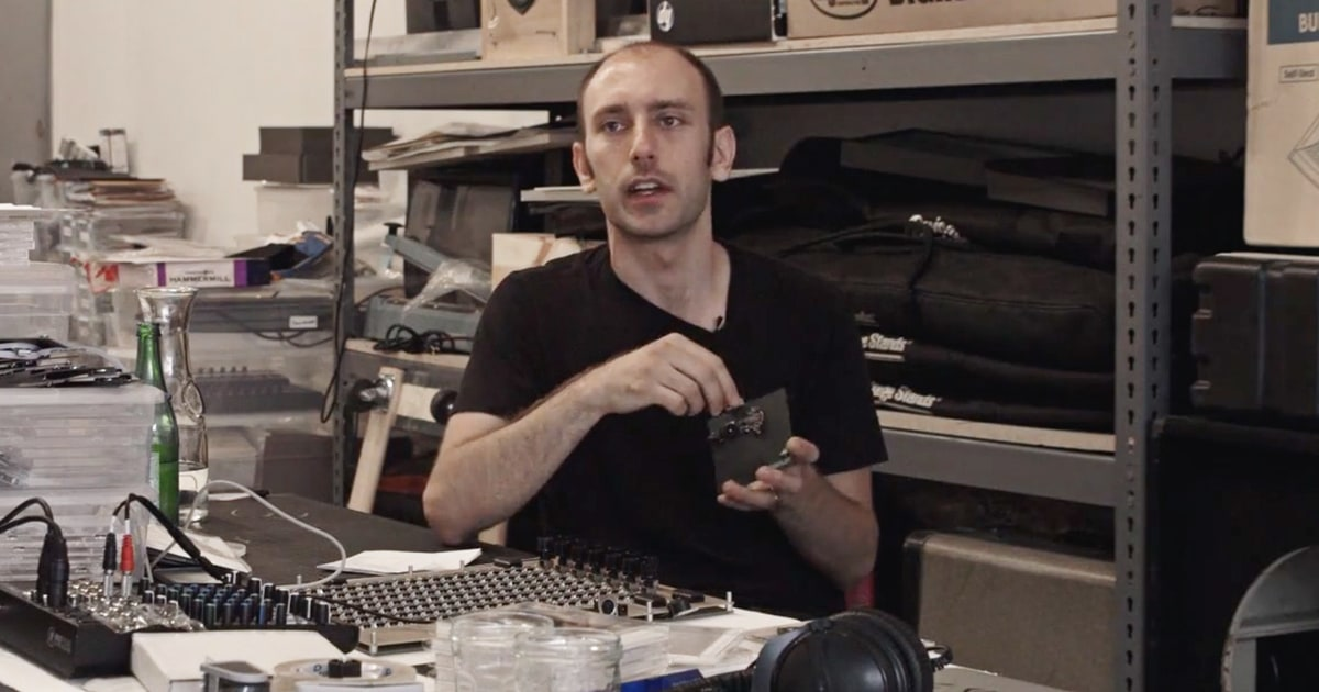 Programmer Tristan Perich Explain His Circuit Board Lp Rolling Stone