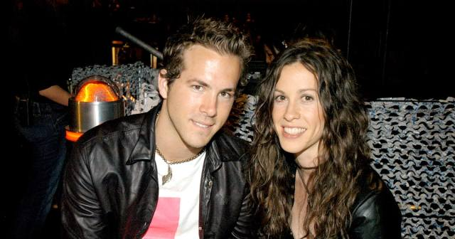 Image result for ryan reynolds and alanis morissette
