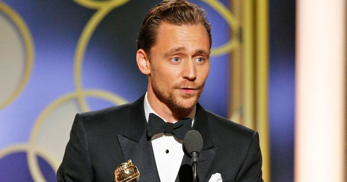 Tom Hiddleston Apologizes For His Golden Globes 2017
