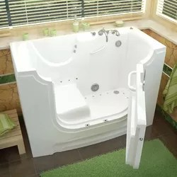 Value Series 32x52 Inch Whirlpool Walk In Tub Out Swing