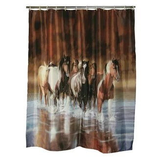 Wild Horses Shower Curtain from Wayfair!