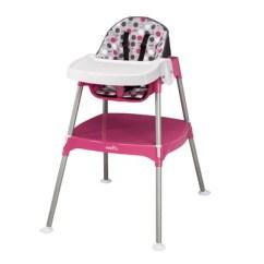 Evenflo Convertible High Chair Dottie Lime Garden Swing John Lewis 3-in-1 Color: Rose 28111271