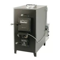 Shelter SF2639 200,000 BTU Indoor Wood Coal Burning Forced