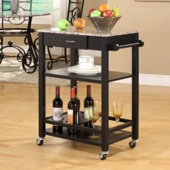 Portable Kitchen Cart Commercial Supplies Inroom Designs With Marble Top Island Islands Shop