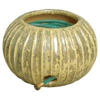 Fluted Garden Hose Container