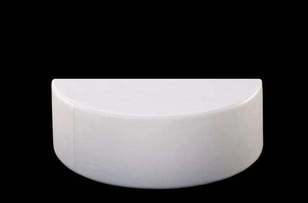 Demi-Stack Plastic Side Table Finish: Bronze Linen