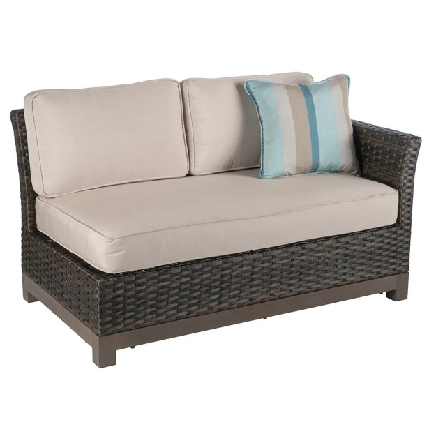Eibhlin 2 Piece Left/Right Sectional Piece With Cushions