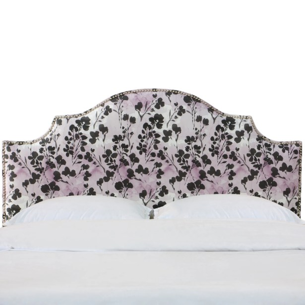 Laszlo Nail Button Notched California King Upholstered Panel Headboard Size: Twin