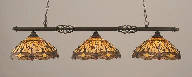 Pierro 3-Light Billiard Light