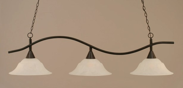 Demi 3-Light Billiard Light Shade Color: White