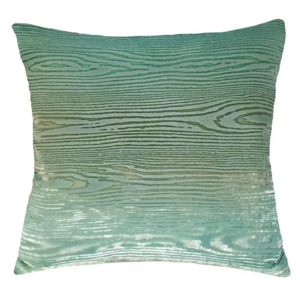 Woodgrain Velvet Throw Pillow Size: 22'' H x 22'' W x 3'' D, Color: Coyote