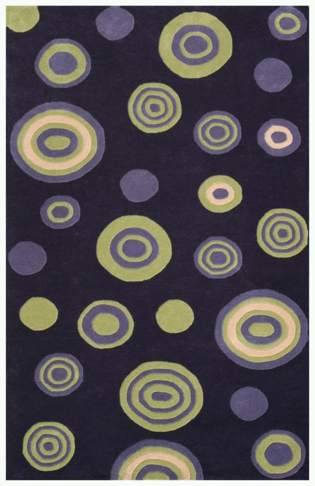 Decor Purple Area Rug Rug Size: 5' x 7'6