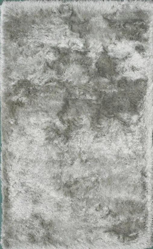 Crystal Silver Area Rug Rug Size: 5' x 8'