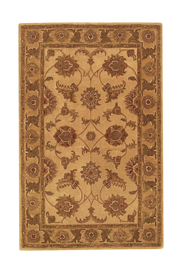 Imperial Beige/Gold Area Rug Rug Size: 8' x 11'