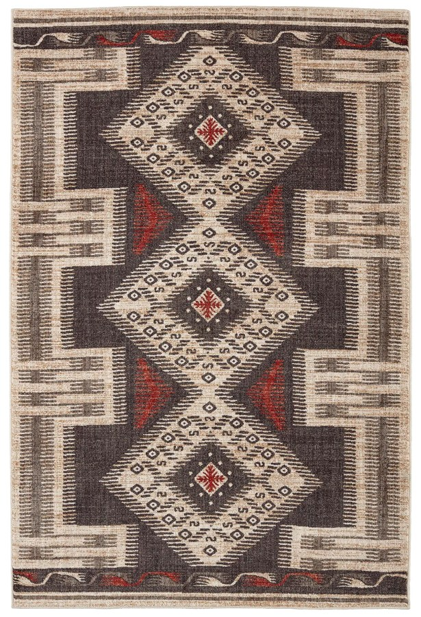 Destinations Hulett Charcoal Area Rug Rug Size: Rectangle 9'6