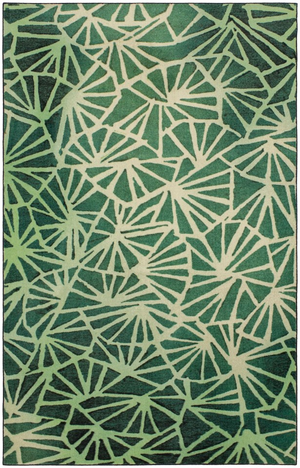 Balch Forest Green Area Rug Rug Size: Rectangle 5' x 8'