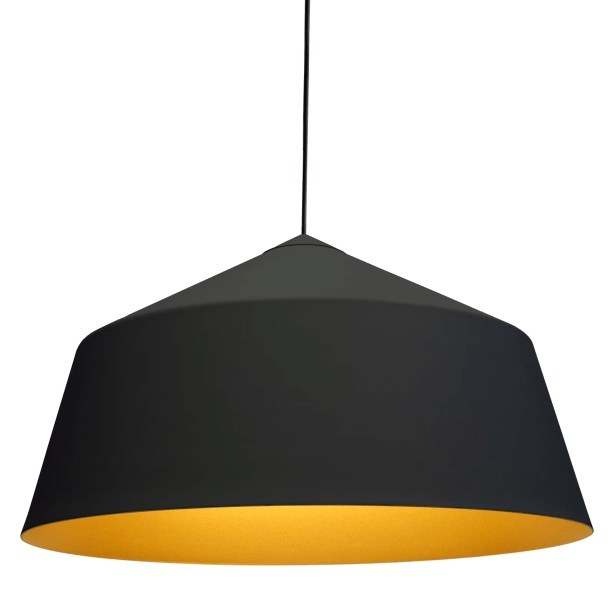 Circus 1-Light Cone Pendant Size: 12.2
