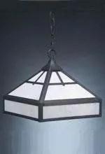 1-Light Hanging Foyer Pendant Finish: Dark Brass, Glass Color: Clear