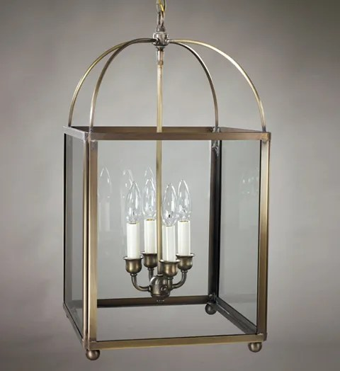 Chandelier 4-Light Foyer Pendant Finish: Antique Copper, Glass Type: Clear