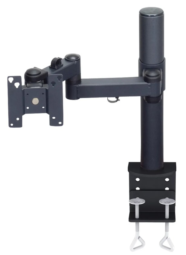 Tube with Clamp Base Single Display Arm