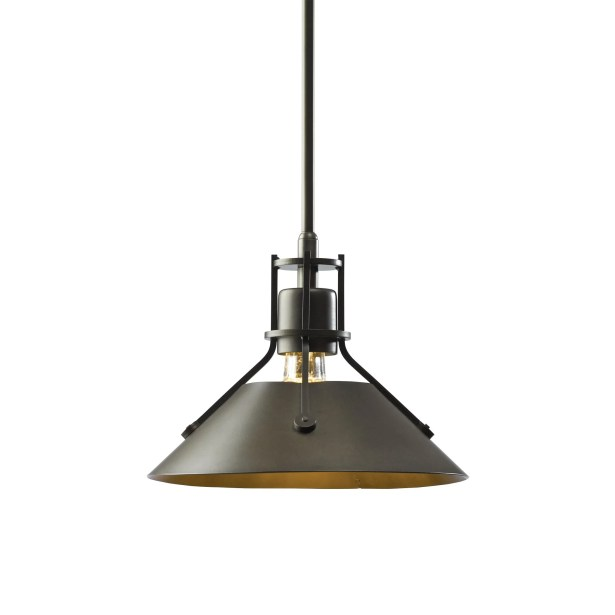 Henry 1-Light Cone Pendant Size: 52.7