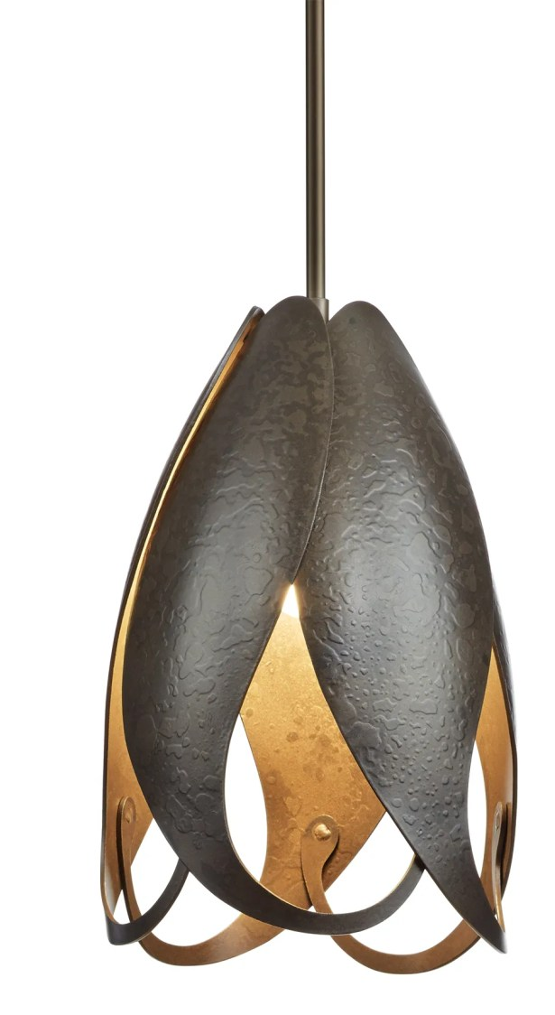 Pental 1-Light Novelty Pendant Size: Medium, Finish: Natural Iron