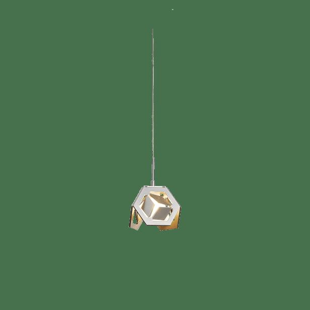 Winter 1-Light Geometric Pendant Finish: Vintage Platinum